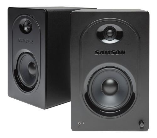 monitores de estudio samson mediaone m50 activo audio par tm