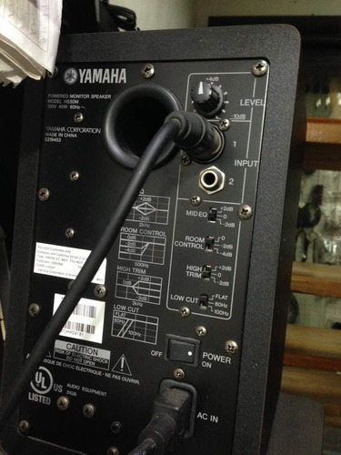 monitores de estudio yamaha hs5