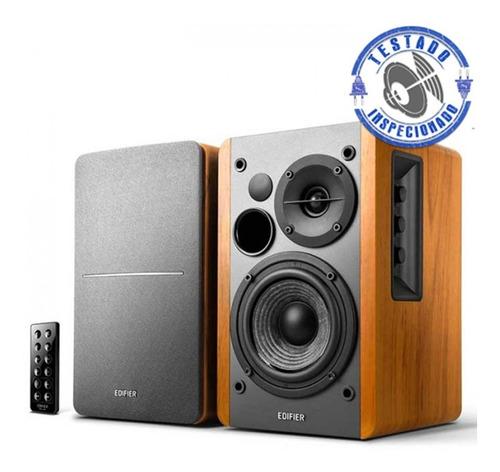 monitores de referencia edifier r1280 db para estúdio e djs