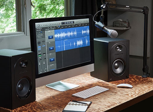 monitores estudio audio