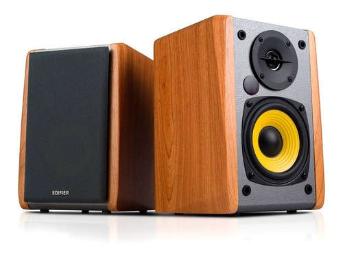 monitores estudio edifier r1010bt bluetooth color madera
