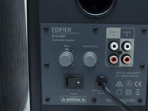 monitores estudio edifier r1010bt bluetooth color negro