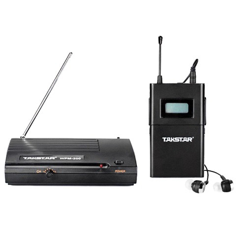 monitores in ear takstar 6 canales wpm-200 digital uhf