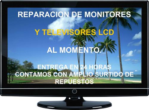 monitores lcd: reparación en minutos