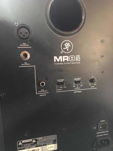 monitores mackie mr8 mk3