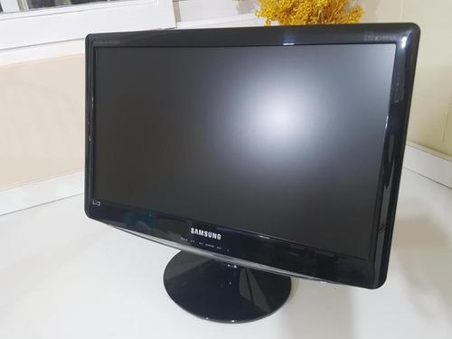 monitores samsung 20 pulgadas cable corriente y cable vga