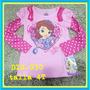 Franelas Disney Princesas Dora Elmo Niñas Y Niños