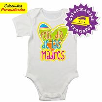 Bodys Bebes Calcomanías Personalizadas Feliz Día Mamá