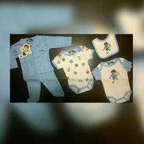 Conjunto De 5 Piezas Para Bebes!! Ventas Al Mayor Y Al Detal