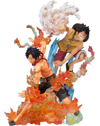 monkey d. luffy (brother's bond) - one piece - figuarts zero