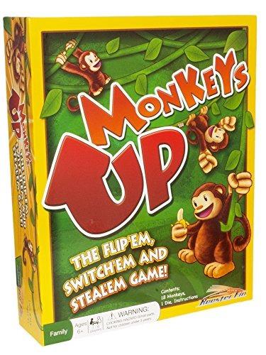 monkeys up family board game - diversión educativa para tod