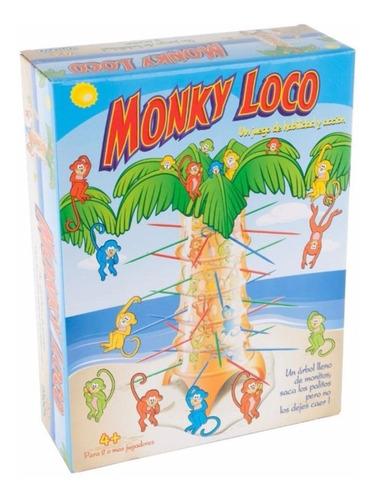monky loco juego de mesa original de ditoys planeta juguete