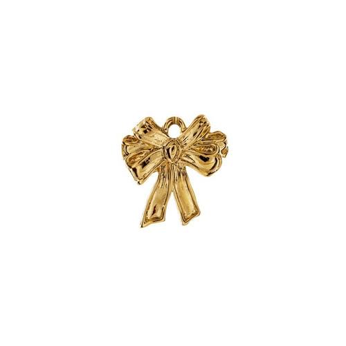 moño con cadena chapa de oro 22 k