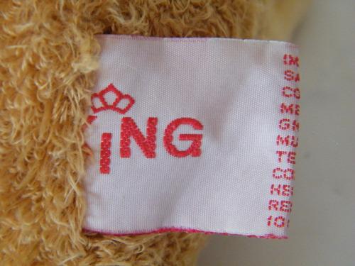 mono con corbatin marca king