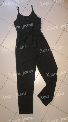 mono largo seda c/ breteles - xoara jeans