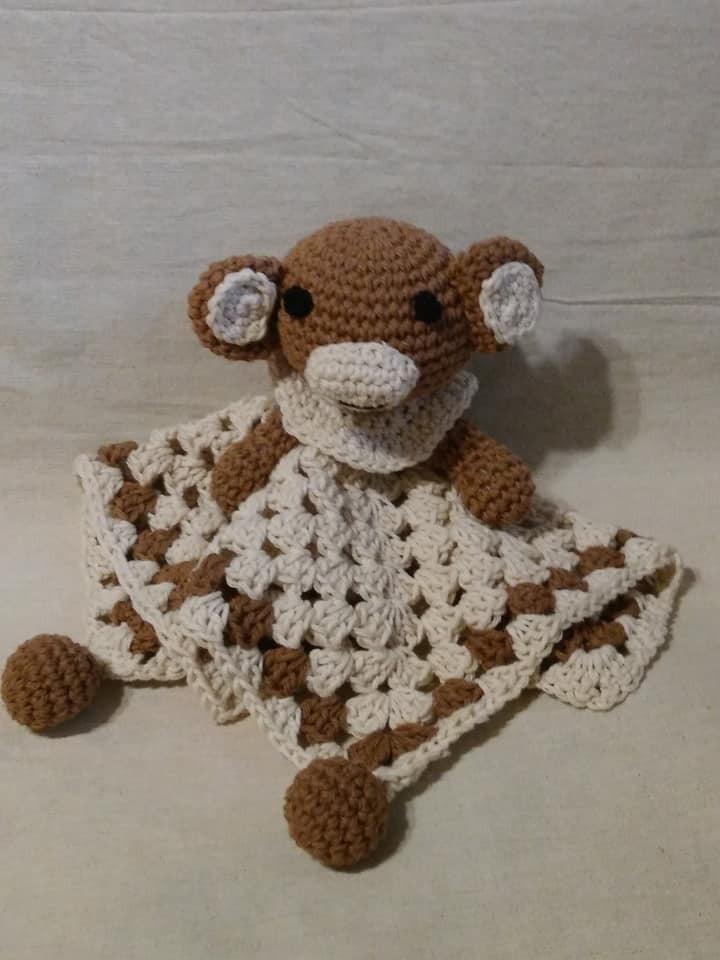 Mono Manta Bebe Apego Crochet El Cristal Encantado - $ 449,99 en ...
