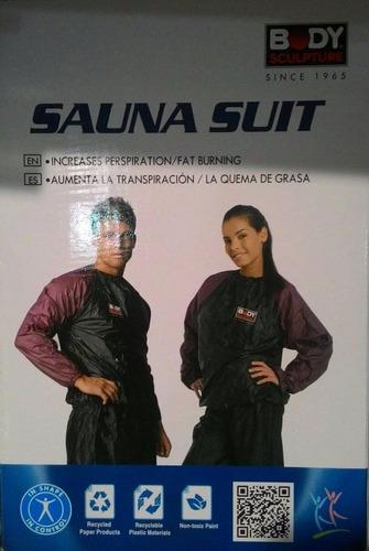mono sauna traje suit body sculture nuevos importado