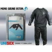 mono traje sauna suit ejercicio transpiracion yston