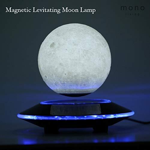 Luna Lámpara Mono Magnético Luz Noche Vive Levita Impres rdCxBoeQW