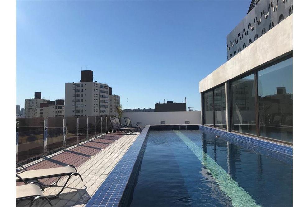 monoambiente 35m2 de categoría c/piscina/amenities