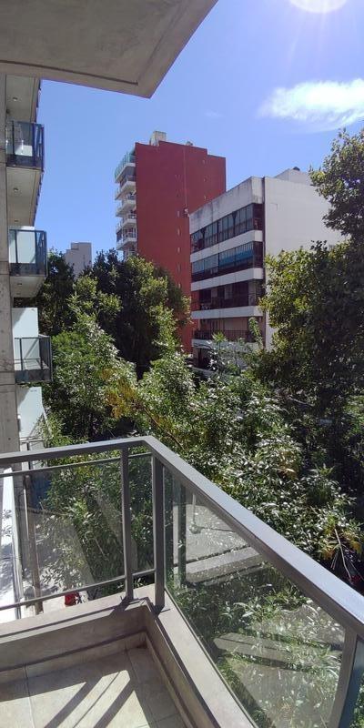 monoambiente a estrenar.  balcón al frente. excelente calidad