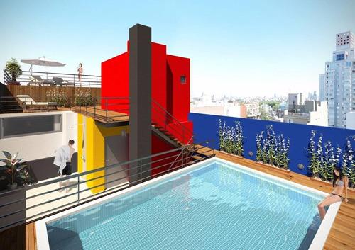 monoambiente a estrenar en edificio con amenities