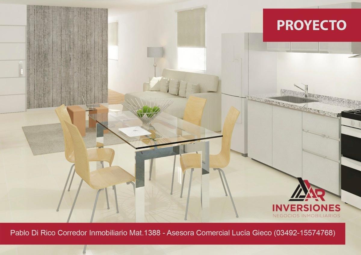 monoambiente a precio promocional en venta!! - rosario (barrio martin) ideal inversión!!