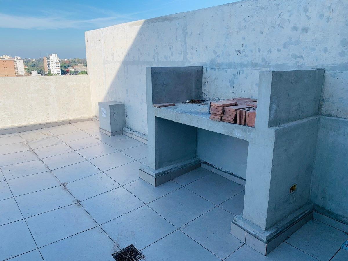 monoambiente al frente con balcon - edificio de calidad con amenities - inversion