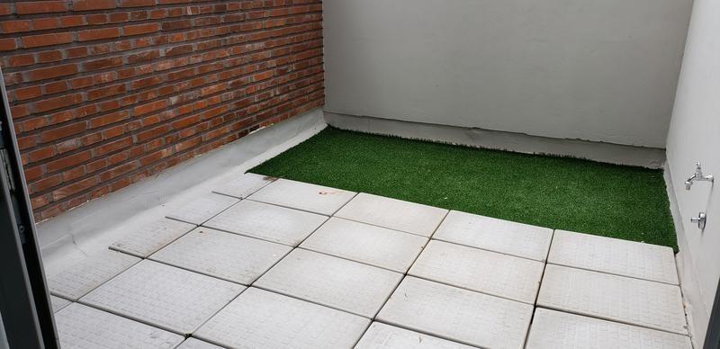 monoambiente con 2 patios - excelentes amenities