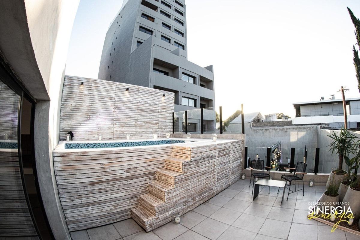 monoambiente con balcon a estrenar - edificio con amenities. entrega inmediata.
