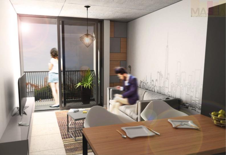 monoambiente con balcon al frente - proxima entrega - zona universitaria y terminal
