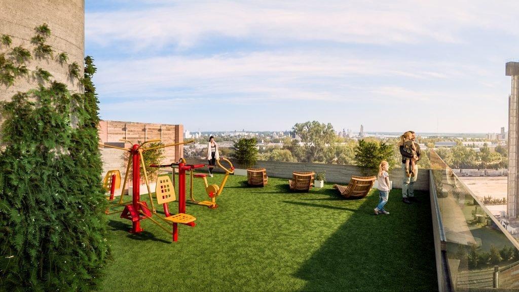 monoambiente con balcon - terraza con amenities - amplia financiacion