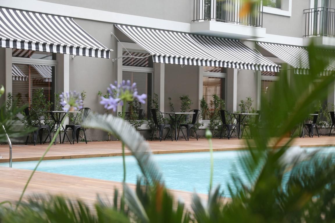 monoambiente con cochera y excelentes amenities en quartier madero urbano