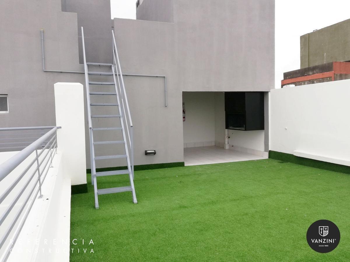 monoambiente con terraza exclusiva en barrio abasto