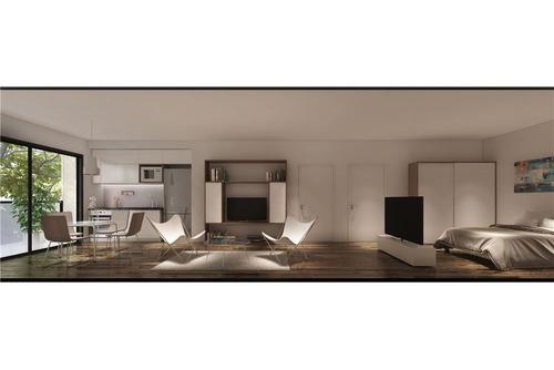 monoambiente contrafrente con balcon, y amenities!
