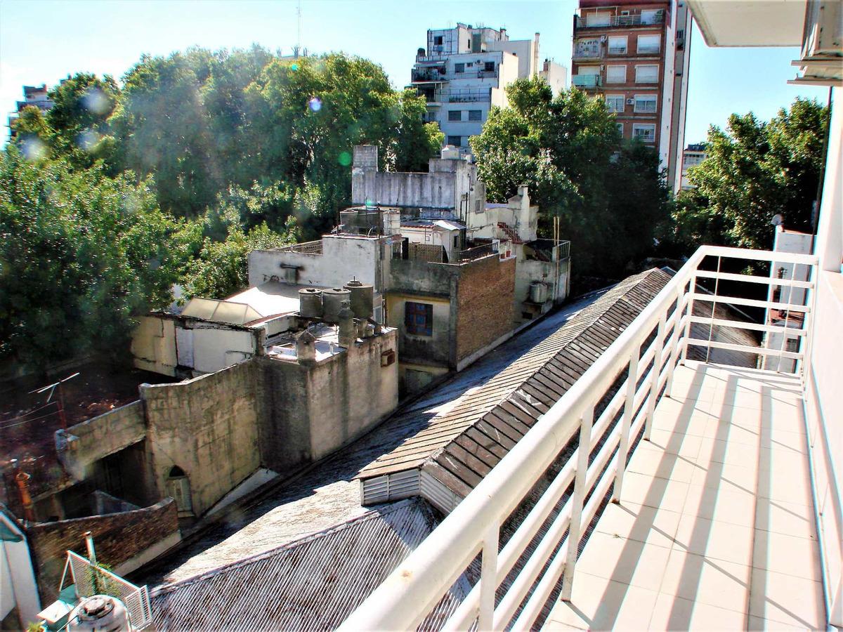 monoambiente divisible con balcon