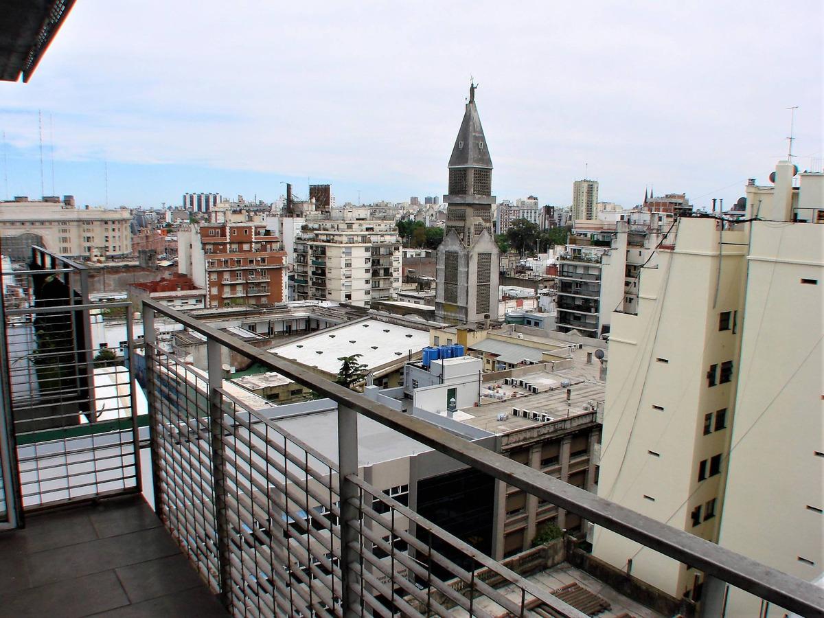 monoambiente divisible con balcón