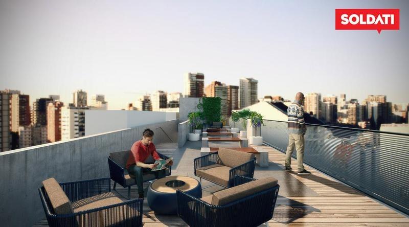 monoambiente divisible - win live and work - barrio norte