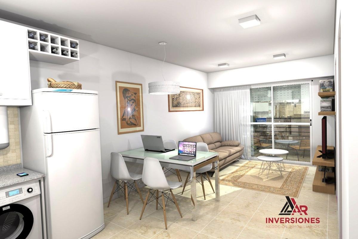 monoambiente en construccion - zona de gran valor residencial y alta demanda - ideal para inversion