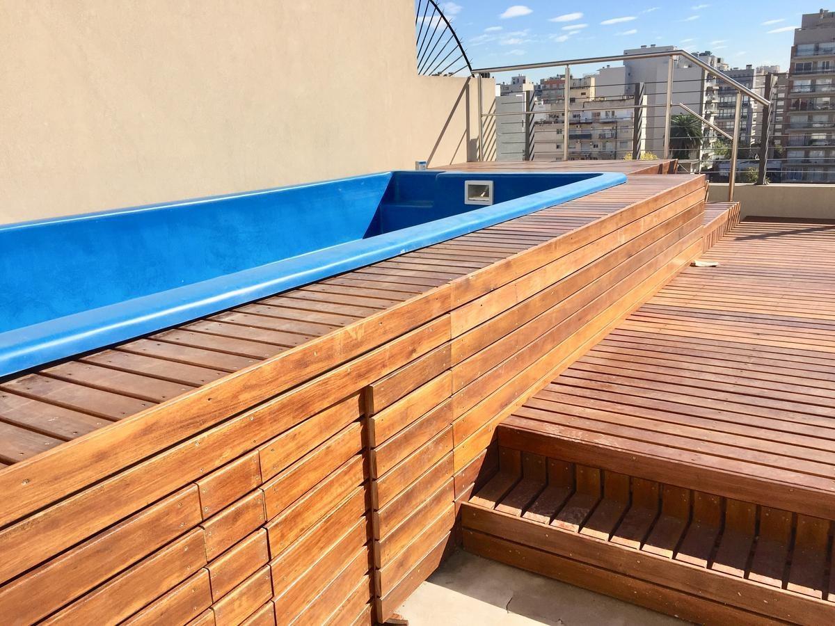monoambiente en l vista al frente c/balcón - pleno villa urquiza