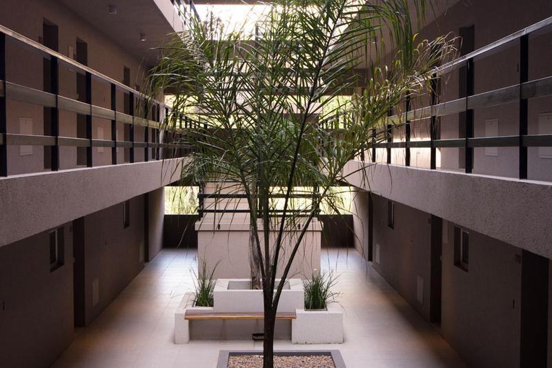 monoambiente en  venta - con patio y parrilla en campus vista, pilar- usd1700 x m2