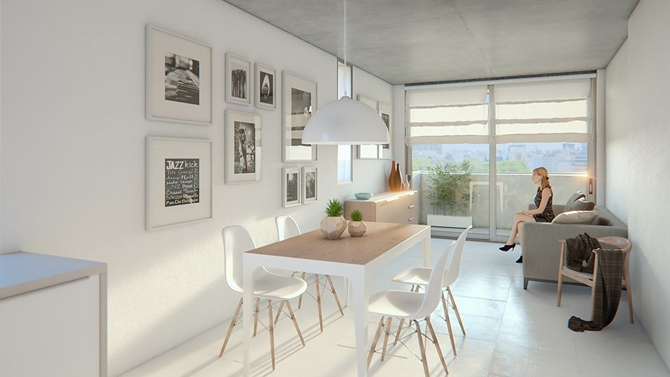 monoambiente ideal inversion - exelente zona en rosario - amenities