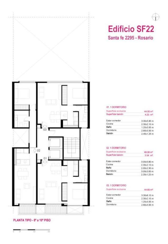 monoambientes - 1 - 2 dormitorios - entrega enero 2020