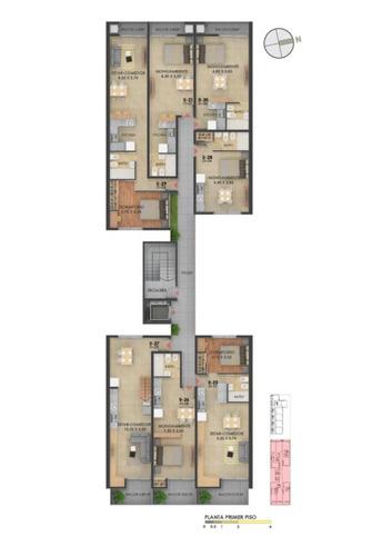 monoambientes - 1 - 2 dormitorios - zona de renta