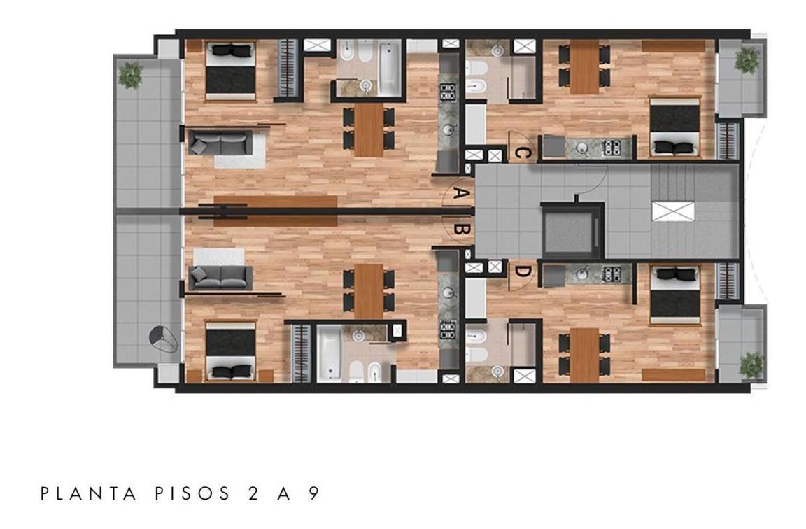 monoambientes, 1 y 2 dormitorios de calidad