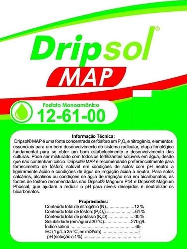 monoamônio fosfato map fertilizante fosfato monoamônico 5 kg