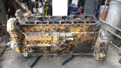 monoblock cigueñal p/ motor caterpillar 3406 b mecánico 1989