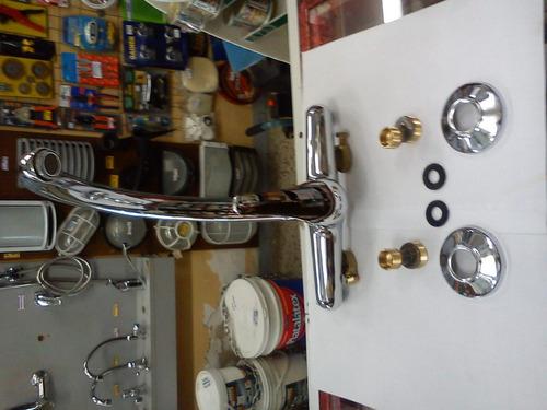 monocomando de cocina salerno 40 mm completo y nuevo