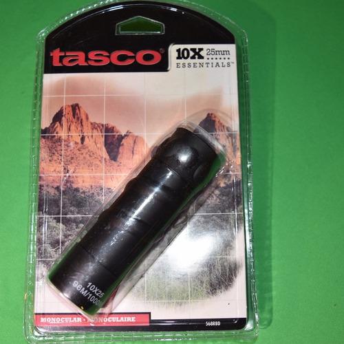 monocular tasco 10x25 essentials series