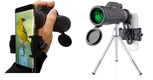 Monocular telescope hd waterproof bak high power sp